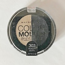 Maybelline New York Color Molten Eye Studio Shadow .07 Oz Midnight Morph... - $4.84