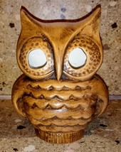 "Vintage Ceramic Owl Candle Stick Holder 6"" Tall - $19.79"