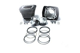Black 883-1200CC Cylinder And 10:1 Wiseco Piston Kit For Hd Sportster 1986-03 - $597.91