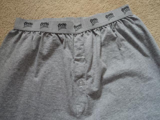 Authentic Gray Coors Light Sweat Pants XL