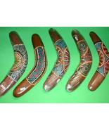 "Boomerang Aboriginal Made in Bali 16"" Long  Handmade Large - $24.95"