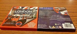 THE LONDON TRAVEL GAME WITH MAGNETIC PLAYING PIECES - $7.05