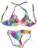 Sunsets Paris Wheel Bikini Swimsuit Sz 34D Top, Small Bottoms NWT$122  - $71.25