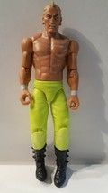Sting Surfer WWE Mattel Wrestling Figure 2014 Mohawk Stripe Neon Green P... - $19.79