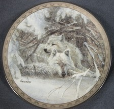 Winter Lullaby Collector Plate Peace On Earth Duane Geisness Bradford Wo... - $27.95