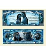 Pack of 25 - Avatar Pandora Movie 1 Million Collectible Novelty Dollar Bill - $9.85