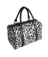 [Enjoy Life]White Leopard Fur Leatherette Handbag Purse - $20.00