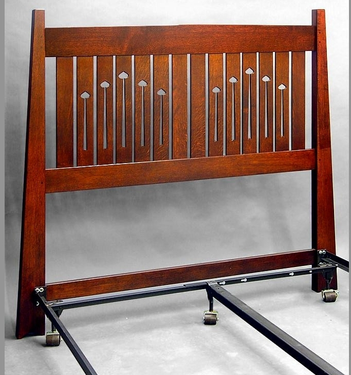 Mackintosh Queen Headboard and Metal Frame.