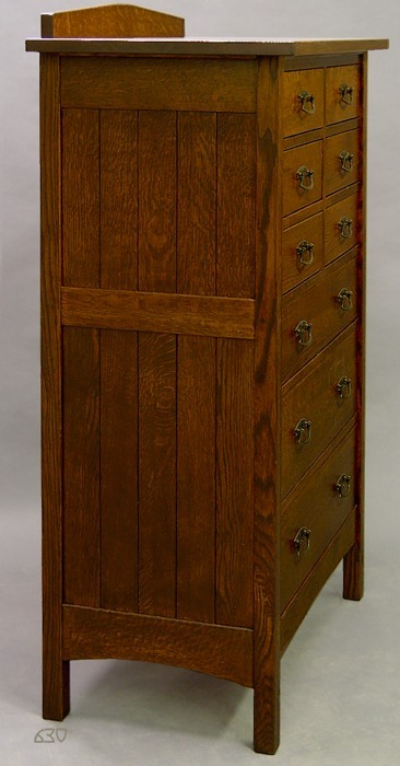 Mission, 9 Drawer Tall Chest of Drawers