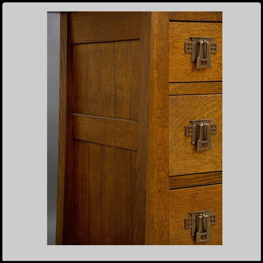 Mackintosh 9 Drawer Bureau