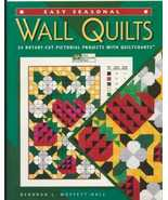 Quilt book: Easy Seasonal Wall Quilts Rotary Cut - $7.87