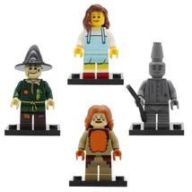 4pcs/set Wizard Of Oz Minifigures Cowardly Lion Dorothy Scarecrow Figure Lego - $6.50