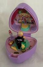 Vintage 1991 Polly Pocket Perfect Piano Recital Ring & Case COMPLETE Blu... - $49.49