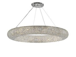 Crystal Ring Chandelier Modern/Contemporary Lighting Floating Orb Chande... - €3.200,77 EUR