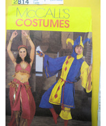 McCalls 2814 Vintage Costume Joker Belly Dancer... - $8.95