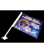2001 St. Louis RAMS NFC Football CHAMPS Car Window FLAG Rico Ind TAG EXP... - $17.99