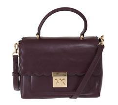 Purple MINDY Satchel Crossbody Bag - $318.00