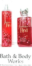Bath and Body Works Gift Set of 2 Forever Red Shower Gel and Body Mist - $21.78