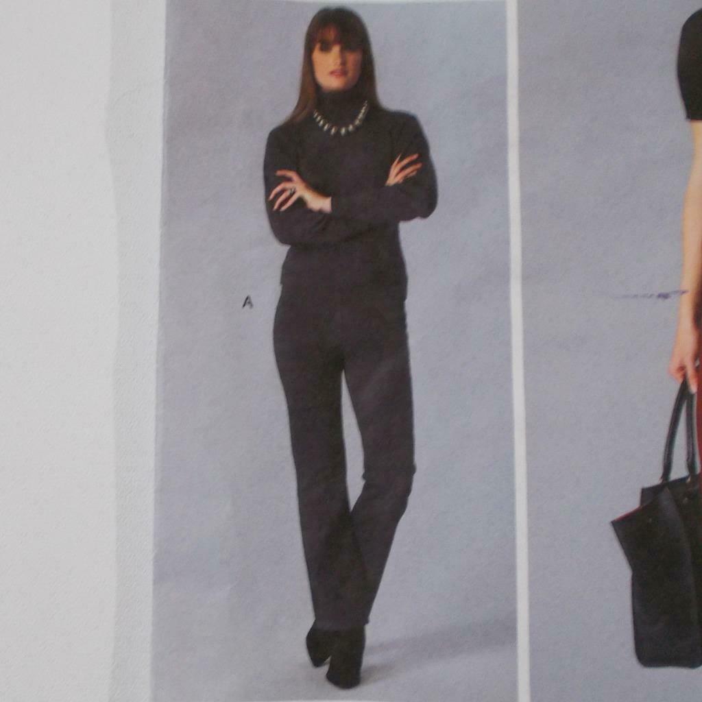 Todays Fit Vogue Pants Pattern V1411 Sandra Betzina Size OSZ Uncut image 4