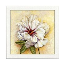 PANDA SUPERSTORE Beautiful Peony DIY Cross Stitch Stamped Kits Pre-Printed 11CT