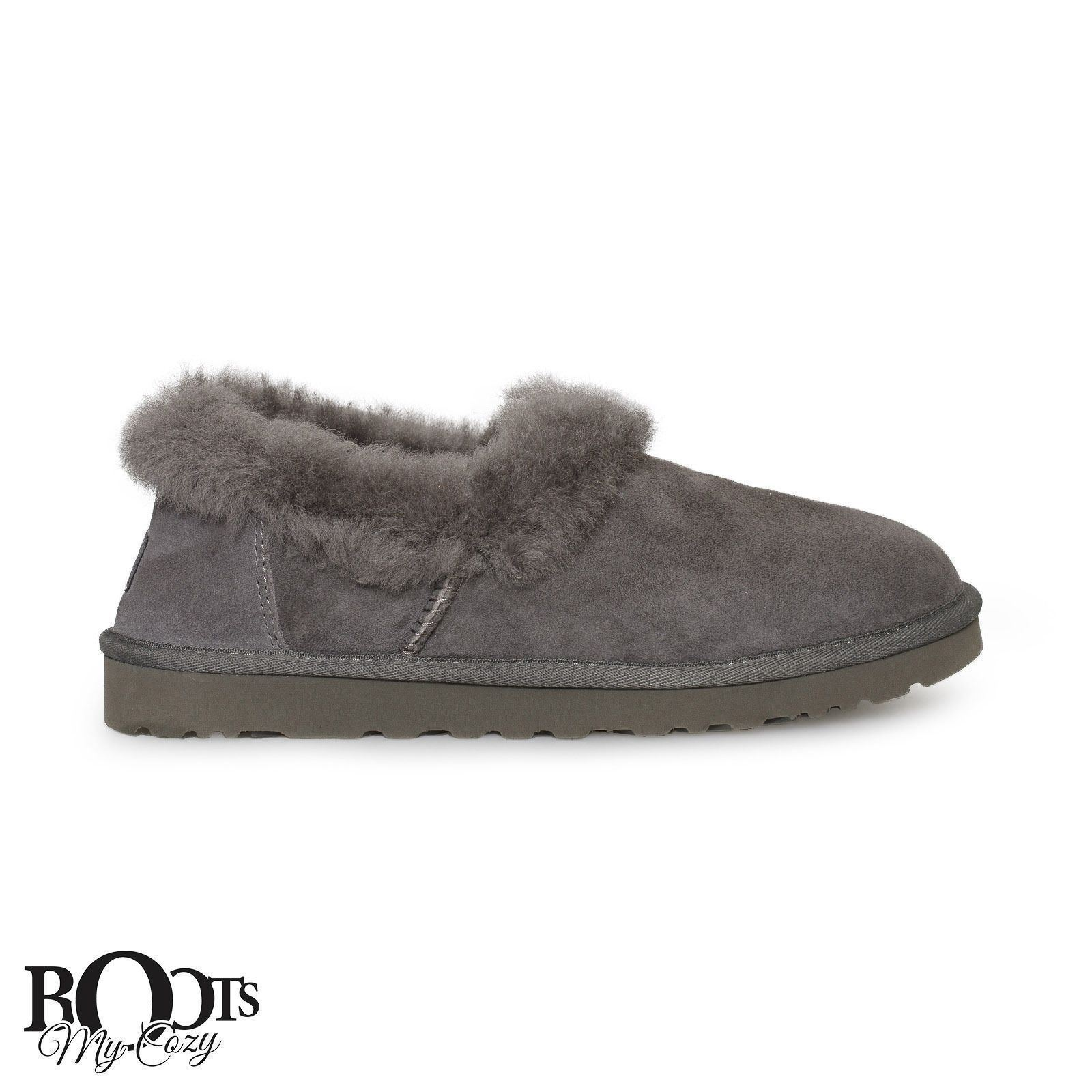 1e02a6b18a2 Ugg Nita Grey Suede Sheepskin Women's and 50 similar items