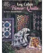 Quilt book: Log Cabin Flower Quilts  - $7.87