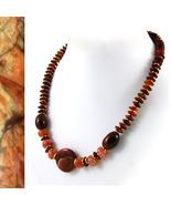 Sardonyx and Agate Necklace - $45.00