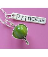 Princess & the Pea Necklace - $46.00