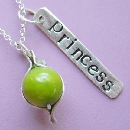 Princess & the Pea Necklace