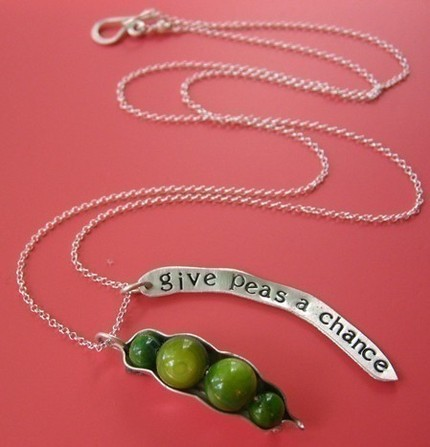 Give Peas a Chance Necklace