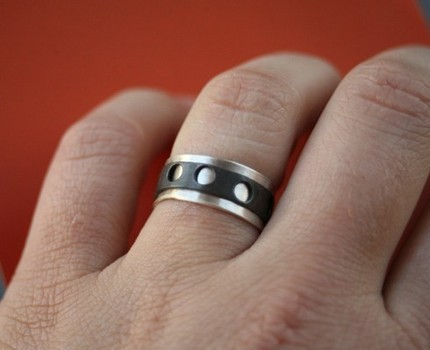 Filmstrip Spinner Ring
