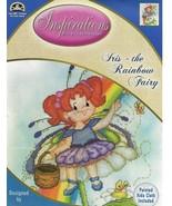IRIS - THE RAINBOW FAIRY  - Cross Stitch Kit with Painted Aida - $49.49