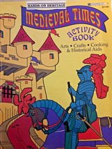 Medieval Times : Arts, Crafts, Cooking, and Historical Aids by Linda Mil... - $0.99