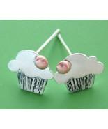 Cupcake Post Earrings - $60.00