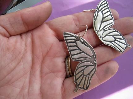 Butterfly Impression Earrings