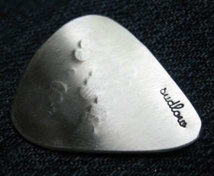 Custom Stamped Guitar Pick