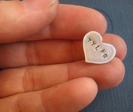 Custom Heart Pin