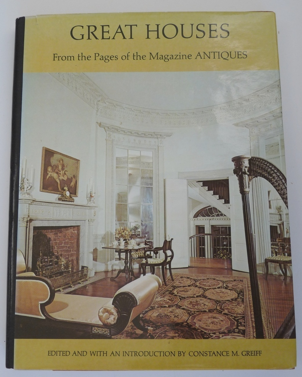 Great Houses Magazine Antiques book home decorating perior rooms