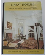 Great Houses Magazine Antiques book home decorating perior rooms  - $12.00