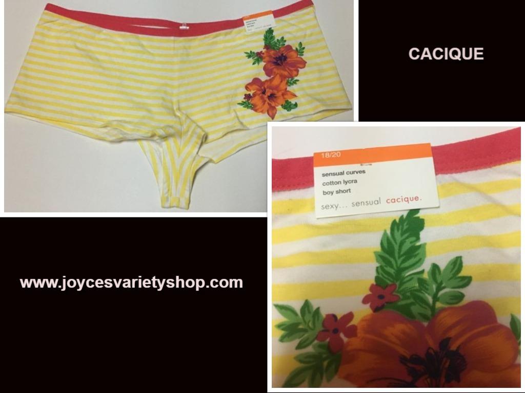 Cacique underwear web collage