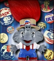 "3"" GOP ELEPHANT TROLL by Wild Hair Creations Trump 2020 political Republ... - $19.79"