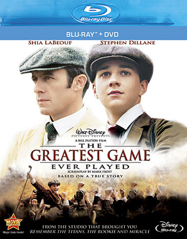 Greatest Game Ever Played (Blu-ray/DVD/2 Disc Combo)