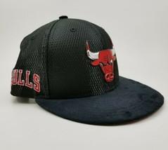 Chicago Bulls Cap New Era Flat Brim Snapback Hat 2017 Draft Day NBA. Sue... - $26.18