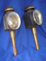 1800's Authentic Antique Carriage Lamps lanterns QUALITY + Original UnAl... - $795.00