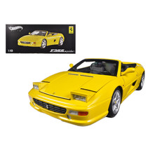 Ferrari F355 Spider Convertible Yellow Elite Edition 1/18 Diecast Car Mo... - $149.09
