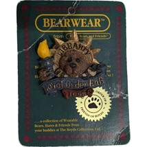 Boyds Bears Pin Bearwear Boyds And Friends Loyal Order F.O.B 1998 Lady L... - $4.99