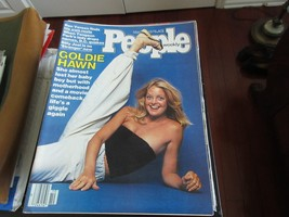 Goldie Hawn , People Magazine , 3/6/78 , Ben Vereen , Billy Joel , Tongs... - $24.75