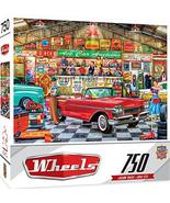 MasterPieces Wheels Jigsaw Puzzle, The Auctioneer, Featuring Art by Lind... - $9.29