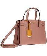 Tory Burch Pink Moon Leather Walker Small Satchel Shoulder Bag NWT - $295.52