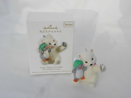 "2011 Hallmark Keepsake Snowball & Tuxedo ""Snap Happy Friends"" Christmas Ornament - $12.99"